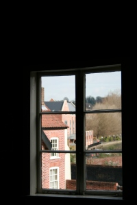 View from Dragon Hall over Norwich